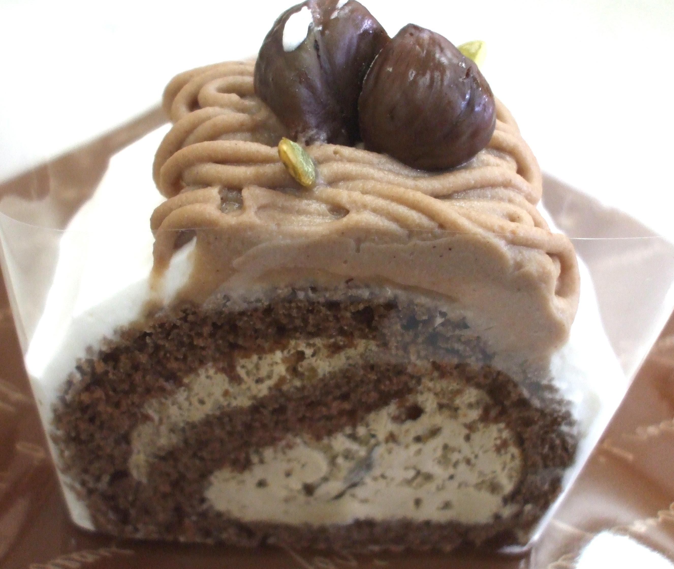 アレルギー対応 マロンロールケーキ